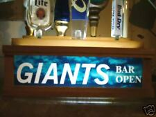 Lighted GIANTS tap handle holder HOLDS 7