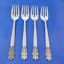 Oneida Northland OHS75 Salad Forks Stainless Flatware Japan Set Of 4