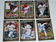 MATT HELM South Bend Silverhawks Signed 2012 Midwest League MWL All Star AUTO