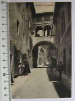 cartolina Umbria - Spoleto Via Monterone - Perugia 356