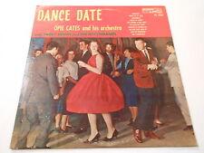 OPIE CATES TRUDI  ERWIN  SINGS  Dance Date,Audio Lab 1560,vg+++