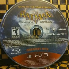 Batman Arkham Asylum game of the year(Sony PlayStation 3) USED (NO CASE) #10613