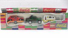 """Coca-Cola - HOLIDAY SET """"JEEP C/RIMORCHIO AUTO o ROULOT - anno 1997"""