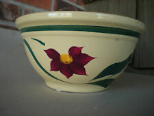 "Watt  CHERRY   #9 Bowl Oven Ware USA 9.5"" x 5"" Deep"