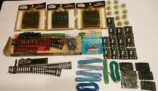 Atlas HO Train Huge Lot 2 RH Turnouts and Lots of Wiring & Switches Mostly New