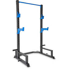 Power Rack Cage Home Gym Squat Weight Lifting Fitness Pull Up Workout Training