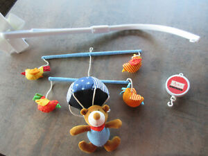 Baby-Mobile, Sigikid, mit Halterung, Spieluhr