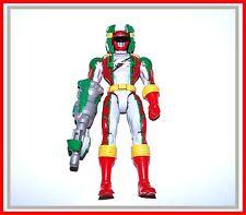 Power Rangers Operation Overdrive _ Mega Red Torque Ranger w/ Helmet