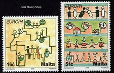 2006 Malta Europa - Integration Complete Set SG 1482 - 83 Unmounted Mint