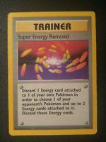 1x Super Energy Removal 79/102 Base Set Non-Holo Rare Pokemon Card