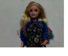 Handmade Knitted Barbie Scarves Brand New Multi-Colored