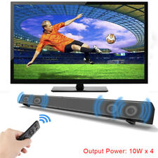 Wireless TF Support Sound Bar Speaker Bluetooth Stereo AUX TF Card For TV PC