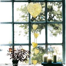 LED Lichterkette HERZ Weihnachtsdeko Deko Beleuchtung Lichter Fenster Dekoration