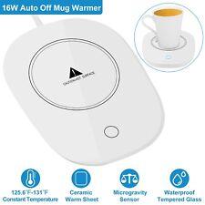 Cup Mug Warmer Coffee Tea Milk Drink Heater Pad Auto Shut Off Fit Home Office