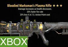 B2525 PLASMA RIFLE | FO 76 XBOX BLOODIED FASTER FIRE FFR 25 % LESS VATS COST LVC