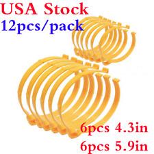 USA 12pcs/ Pack Sooper Clip Material Roll Clips Vinyl Film Holder