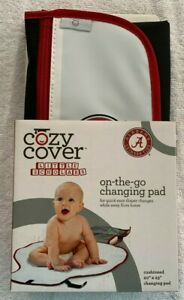 """University of Alabama: Crimson Tide """"On-The-Go- Changing Pad by Cozy Cover"""