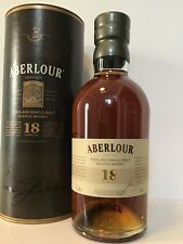 Aberlour 18 years old Highland Single Malt Whisky 43% en tube