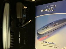 Hairmax Laser Comb Hair Growth Stimulator Kit For Parts Or Repair Warranty Card