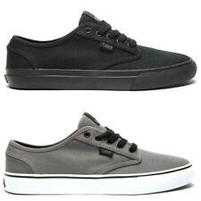 DVS scarpe da uomo donna in tela tessuto nero grigio RICO CT sneakers leggere