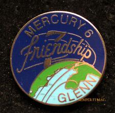 US MARINE ASTRONAUT JOHN GLEN NASA FRIENDSHIP 7 HAT PIN Mercury-Atlas 6 USS NOA