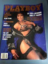 Playboy Magazine November 1991 LaToya Jackson Does it Again