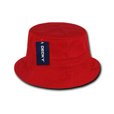 e84c966ba9664 Decky 961 PL Red 06 Polo Bucket Hat S M Sporting Goods