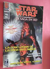 STAR WARS LA SAGA EN BD N°08 - COMICS - DELCOURT - VF