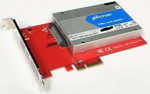 "Micron 9200 MAX 6.4TB NVMe PCIe 3.0 3D TLC MTFDHAL6T4TCU 15mm 2.5"" U.2 SAS SSD"