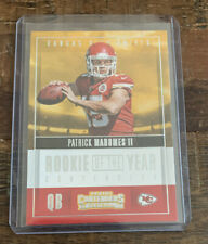 2017 Contenders Rookie of the Year Patrick Mahomes II Rookie RC #3 (Chiefs)