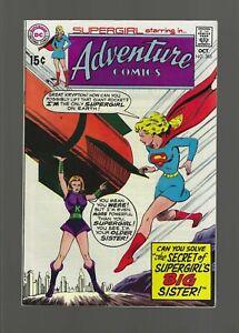 Adventure Comics #385 [DC,1969] VF/NM 9.0 Featuring Supergirl  15 cent cover