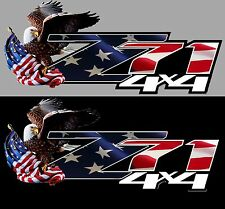 Chevy GMC Z71 decals truck bed 1500 2500 3500 sierra silverado
