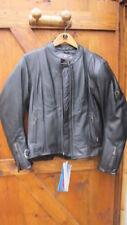 Giacche da donna in pelle bovina con zip completa per motociclista