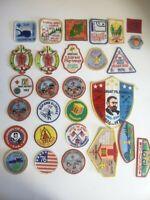 Vintage BSA Lot Patches Boy Scouts Camporee Pilgrimage Librarian 1960 1970 80s