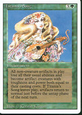 MAGIC THE GATHERING REVISED GREEN RARE TITANIA'S SONG