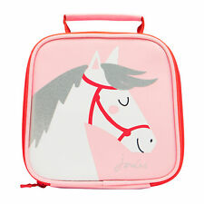 Joules Munch Kids Bag Lunch - Pink Horse One Size
