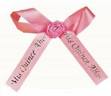 Amscan Mis Quince Anos Ribbon Favor Ties Pink Fabric 20pcs Novelties Party BD