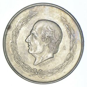 SILVER - WORLD COIN - 1952 Mexico 5 Pesos - World Silver Coin *385