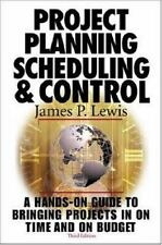 Project Planning,  Scheduling & Control, 3rd Edition-ExLibrary