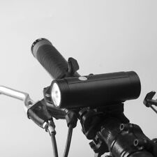 front bike light aluminium 400 lumen USB rechargeable 2000 mAh 4 modes LED alloy