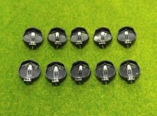 10x Battery Holder CR2032 CR2025 Button Coin Cell Battery Socket Case 3 Volt