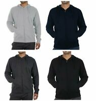 RUSSELL ATHLETIC Mens Zip Through Hoodie Sz S M L XL 2X 3X