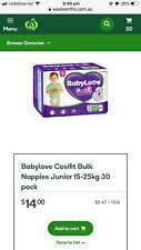 Babylove Cosifit 15-25kg 30 packs