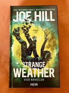Strange Weather - vier Novellen Joe Hill - Horror - gebundene Ausgabe neuwertig