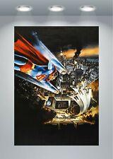 Serie de películas de Superman clásico impresión de arte cartel A0 A1 A2 A3 A4 Maxi