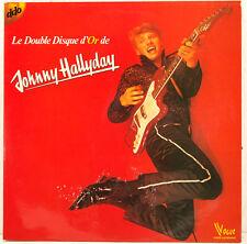 Le Double Disque D'Or de Johnny Hallyday DO-LP Foc (b986)