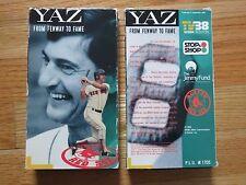 1989 YAZ FROM FENWAY TO FAME TV38 Boston Red Sox VHS Tape CARL YASTRZEMSKI