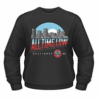 Plastic Head Mens All Time Low Baltimore CSW Sweatshirt, Black, Small