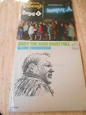"""2 LP'S """"BABY THE RAIN MUST FALL"""" & """"LIVE AT THE HUNGRY"""" GLENN YARBROUGH"""
