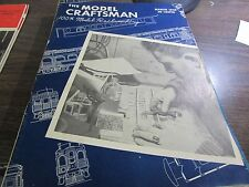 THE MODEL CRAFTSMAN - MODEL RAILROADING  - MARCH 1949 - EXCELLENT